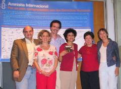 Visita de Irene Khan a España